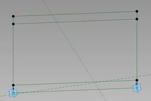 Referenční kostra plotového dílu