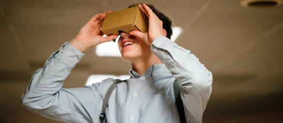 Google Cardboard pasivni VR