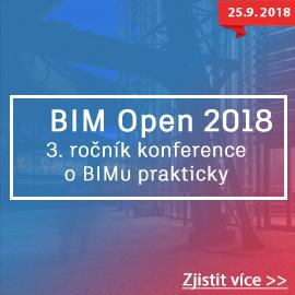 BIM Open 2018 - 3. ročník BIM konference