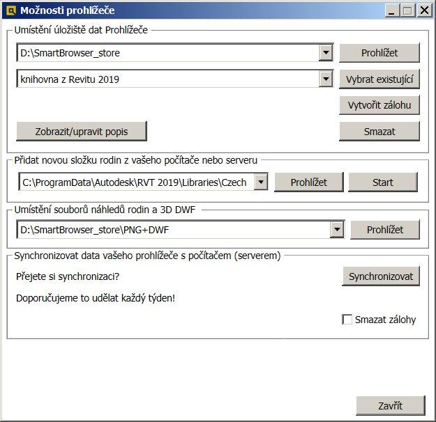 Konfigurace XML souboru
