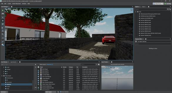 3ds Max Interactive virtualni realita z Revit Live
