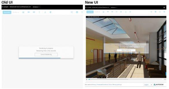 Autodesk cloud render zobrazení