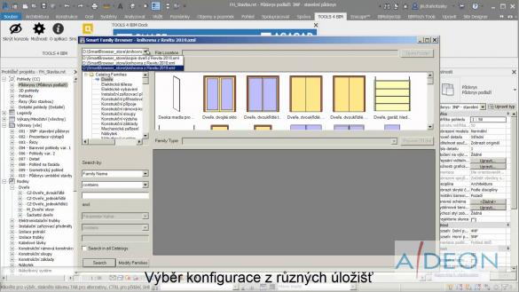 Smart Browser - Výběr konfigurace z různých uložišť
