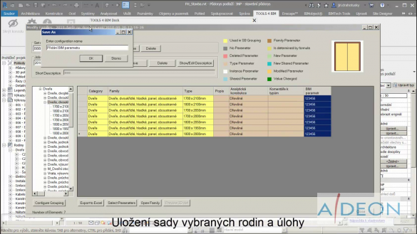 Smart Browser - uložení úlohy hromadného přidání prametru