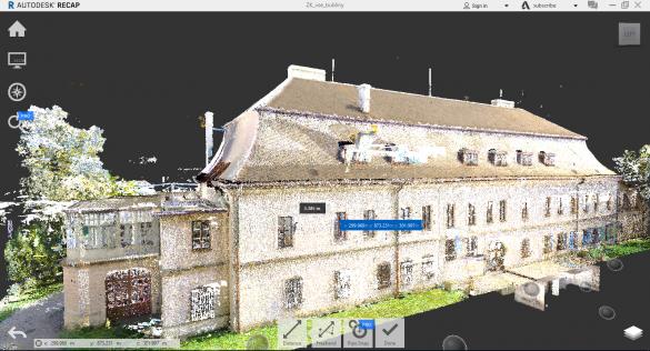 Autodesk ReCAP Mračno bodů