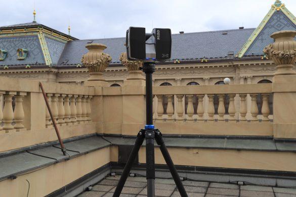 Laserový skener na zachycení mračna bodů