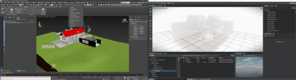 3ds Max a Interactive connect