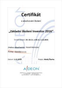 Autodesk Revit certifikace ADeon
