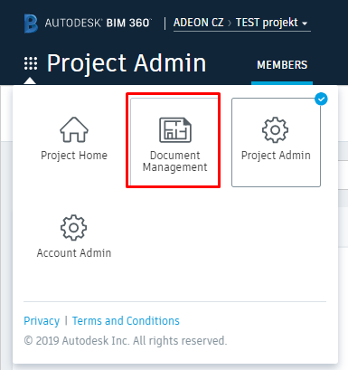BIM 360 Document Management
