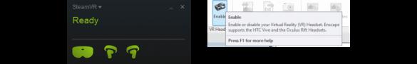 Enscape windows steam VR
