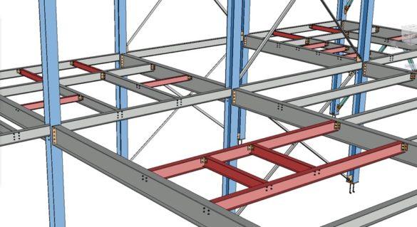 Advance Steel 2021 zobrazit detaily casti modelu