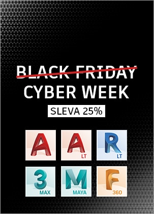 Black Friday: Sleva 25% na Revit LT Suite