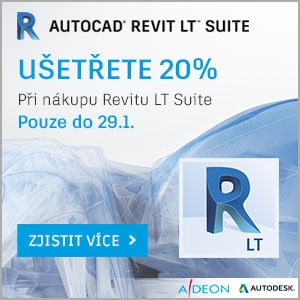 Sleva 20% na Revit LT Suite