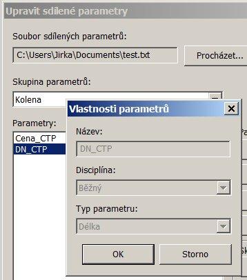 Parametr DN_CTP
