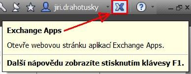 Přístup k aplikacím Exchange Apps