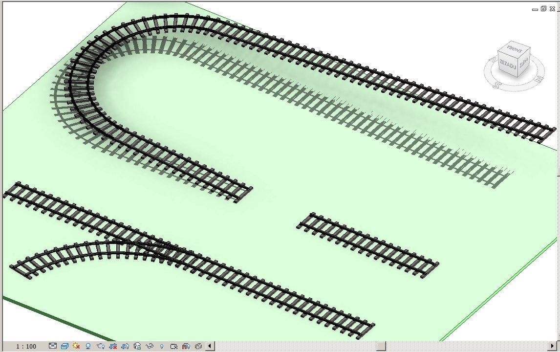 Ukázka kolejí